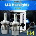 TAITIAN H4 15200LM 144W Car LED Headlight Kit Replace Halogen HID Xenon Bulb 6000K White