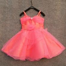 Тюль принцесса цельный подтяжк девушка вечернее платье пуховкой красный