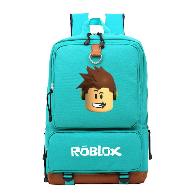 New Anime Game Roblox Travel Laptop Bags Casual Backpack Kids Bag Boys Girls Cartoon School Bags