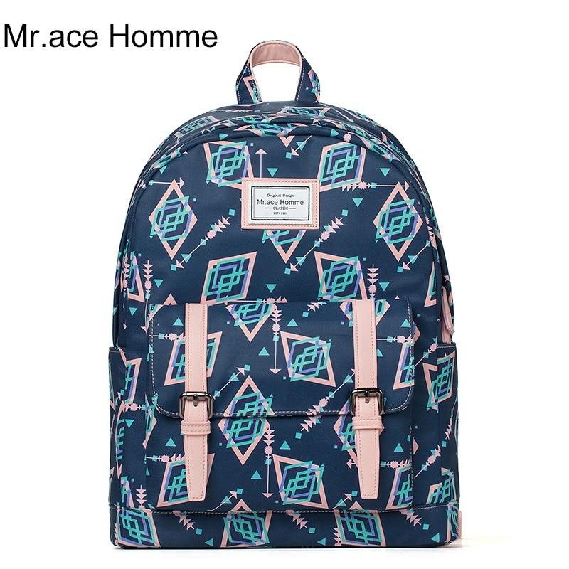pink girl cute travel backpack brand high quality korean college laptop women school bags 2017 fashion