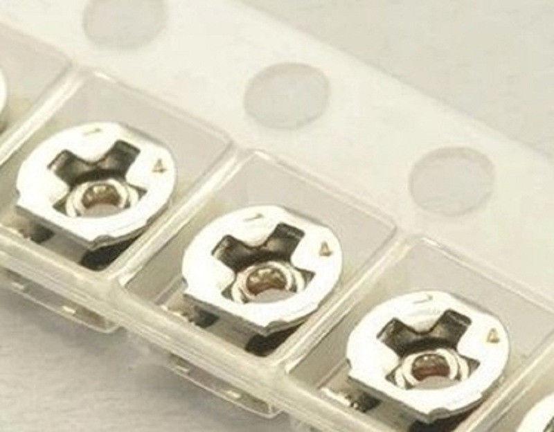 30pcs SMD Trimmer Resistor 20K 3*3 Potentiometer EVM3ESX50B Series 20K 10K 100K 47K 50K 1K 5K 500R 2K 3K 3.3K 2.2K