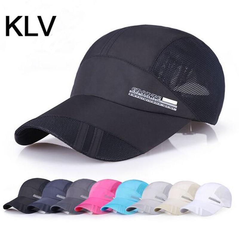 Spring Men And Women Snapback Cap Quick Dry Summer Sun Hat Visor Hip-Hop Bone Breathable Bhapeu Casual Mesh Men Baseball Caps