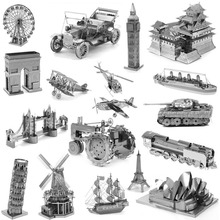 Zero fighter scale models 3D DIY Metal building model for adult kids toys Jigsaw Puzzle for