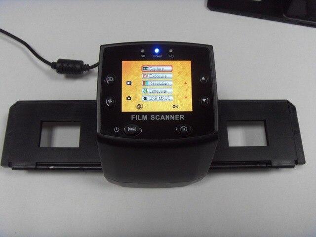 REDAMIGO 5MP 35 мм Портативный SD карты сканирование пленки сканеров негативная пленка слайд просмотра сканер монохромный USB ЦРРН M125