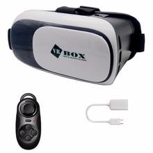 CK 2017 VR коробка 3D Виртуальной Реальности Очки 4.2 Версия для 4 ~ 6 дюймов смартфонов samsung xiaomi iphone для 3d фильмов и игр