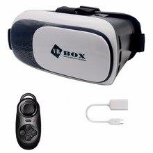 CK 2017 vr коробка 3D Виртуальной Реальности 4.2 Версия Для Samsung xiaomi iPhone 4 ~ 7 дюймов Смартфонов для 3d-фильмов и Игр 3D очки