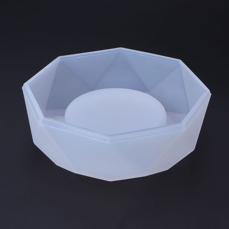 JAVRICK Ashtray Epoxy Resin Plaster Cement Silicone Mold Craft DIY Jewelry Making Cake For Home