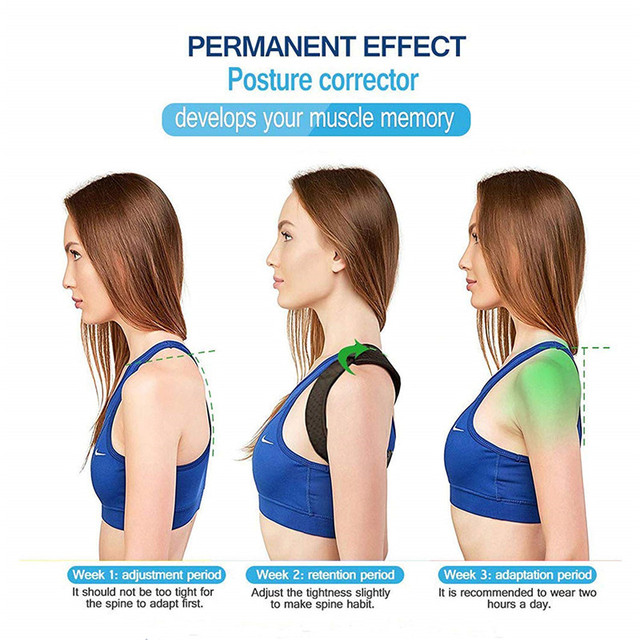 Spine Posture Corrector Protection Back Shoulder Pain Relief 2