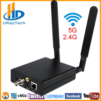 Урай HEVC H.265 HD 3g SDI кодирующее устройство ip видео Wi Fi SDI потокового Encoder Беспроводной SDI RTMP RTSP передатчик H265 H264