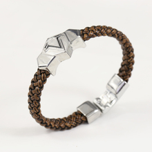 Assassin's Creed Silver Leather Bracelet
