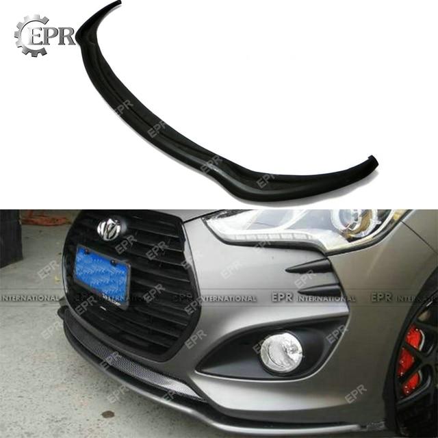 US $102 0 |Aliexpress com : Buy For Hyundai Veloster FRP Fiber Glass Front  Bumper Bottom Lip(Turbo) Fiberglass Splitter Under Spoiler Tuning Part For