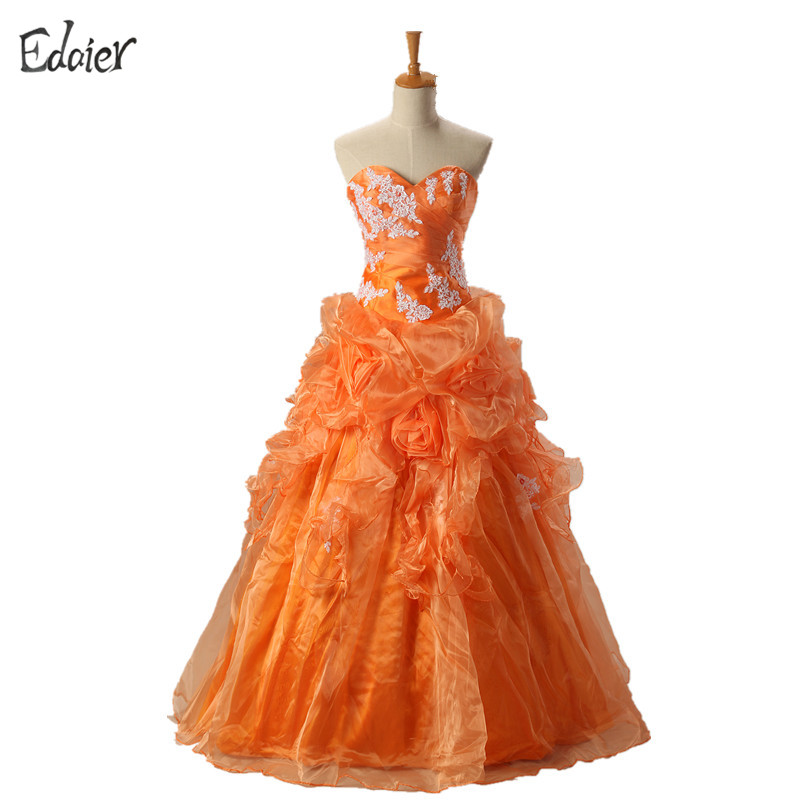 Kleid rosa orange