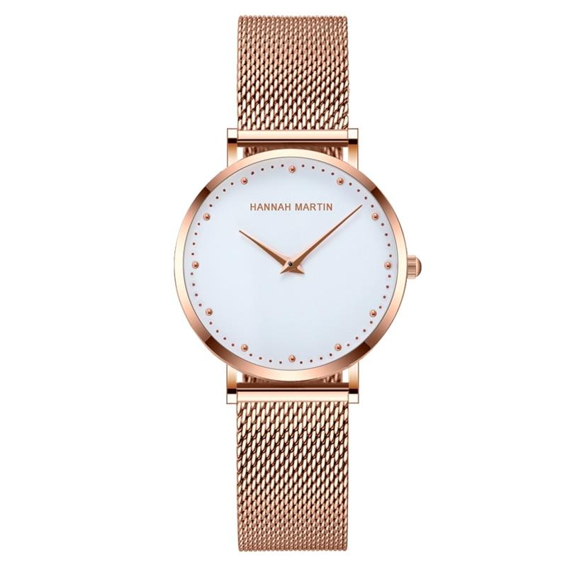 2019 TOP Brand Women Steel Quartz Watch Fashion Casual Ladies Watch Female Luxury Rose Gold Watch For Women Clock Reloj Mujer