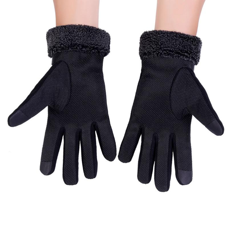 MUQGEW Anti Slip Men Warm Motorcycle Ski Snow Snowboard Gloves mobile phone smartphone Gloves High Quality Fashion Style