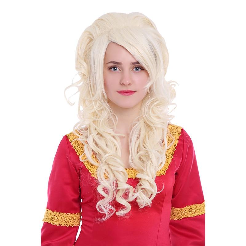 L-email paryk 27,56 tum 70cm Lång Cosplay Parykar 5 Färger Vågigt - Syntetiskt hår - Foto 3