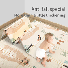 Baby crawling mat infant thickening mat foam stitching foldable
