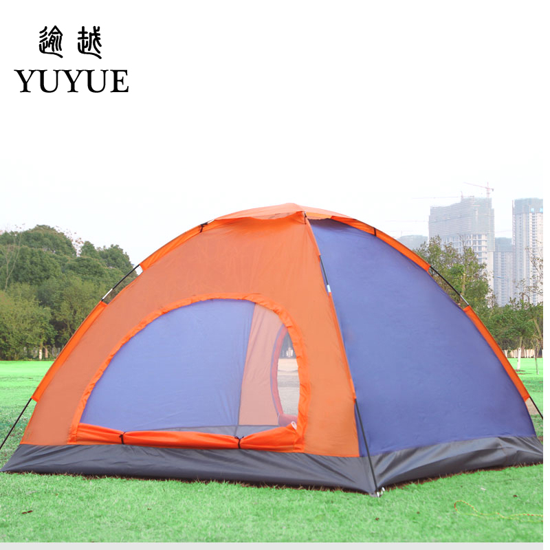 3-4 person UV protection car tent for cleary day hiking gazebo double layer outdoor camping for sunny day   1