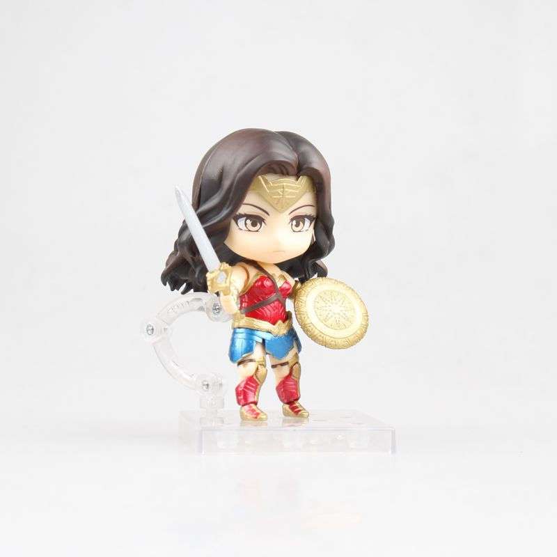 Movie Nendoroid 818 Wonder Woman: Hero's Edition Action Figures PVC Doll Resin Collection Model Toys Gifts