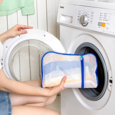 3Pcs/Set Mesh Lingerie <font><b>Laundry</b></font> Bags Storage bag Baskets Bra Sock underwear Clothes House Cleaning Tool Washing machine supplies