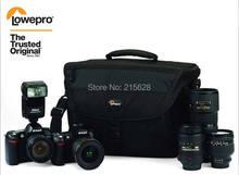 Lowepro Nova 200 AW bolso de la cámara réflex Digital DSLR cámara de fotos de hombro con todo tipo de clima cubierta para la lluvia para nikon canon Sony