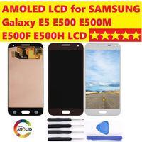 5.0 AMOLED Display for SAMSUNG Galaxy E5 Display LCD Touch Screen Digitizer For Galaxy E5 E500 E500M E500F E500H LCD