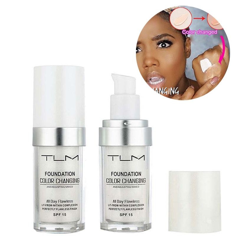 30ml Flawless Color Changing Liquid Foundation Face Makeup