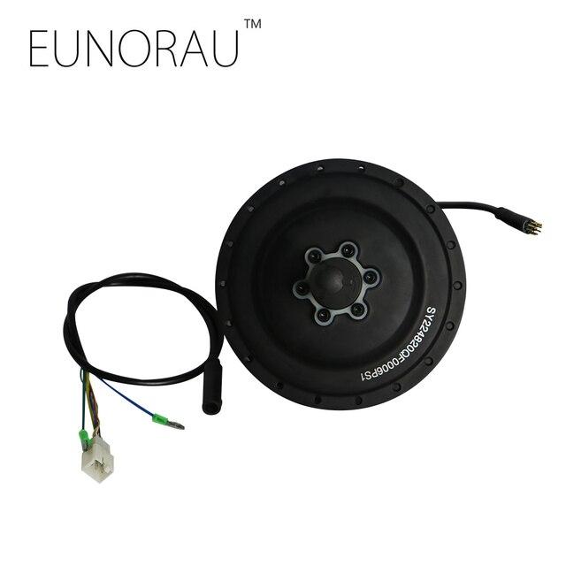 Envío gratuito shengyi CST 48V500W motor de cubo negro trasero 255 RPM sensor de velocidad integrado