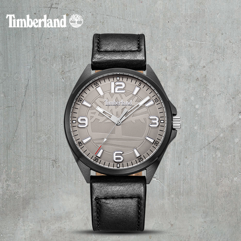 Timberland Original Men's Watches Leather Casual Quartz Water Resistant Top Brand Men Watches T14117