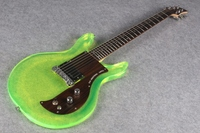 New style acrylic body electric guitar free shipping