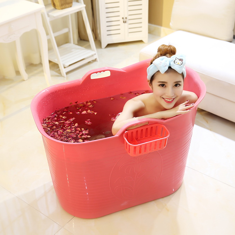 SGS test passed PP5 Plastic Portable Bathtub for Adults