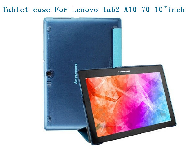 Fashion 2015 For Lenovo Tab 2 A10-70 A10 70 10.1 tablet case transparent pattern pu leather case cover + screen protector+stylus for lenovo tab 2 a10 30 x30 case magnet stand pu leather case protective skin shell case cover for tab 2 a10 x30f x30l case
