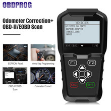 OBDPROG MT601 Car Diagnostic Tool Key Programming Mileage Adjustment EEPROM Pin Code Reader Odometer Correction PK OBDSTAR X100(China)