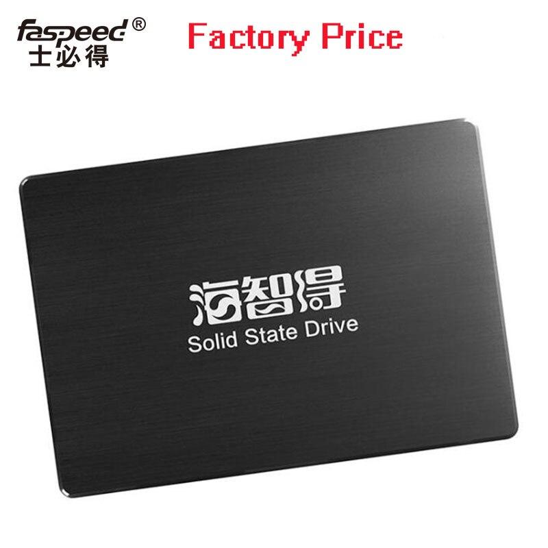 Faspeed SSD 30 gb, 60 gb, 120 gb, 240 gb, 480 gb, 500 gb et d'autres capacités même 8 gb 4 gb, 2 gb de 15 ans Solution De Stockage Usine