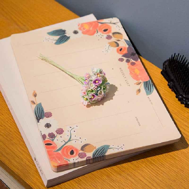 毎週プランナーノートブックスケッチブックcaderno議題素材アブラソコムツcadernosカワイイlibretas y cuadernos nootbookないdefteri
