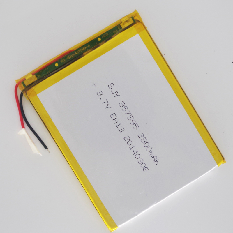 shenzhen technology 367394 <font><b>2800MAH</b></font> <font><b>3</b></font>.7v lithium polymer battery <font><b>3</b></font> <font><b>7</b></font> V volt li po ion lipo rechargeable batteries for tablet PC image