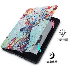 Image 3 - Funda inteligente de piel sintética más ligera para Kindle 2019, 10 °, J9G29R, 2019