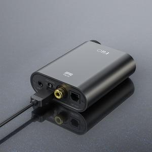 Image 3 - FiiO K3 taşınabilir kulaklık amplifikatörü DSD USB DAC PC, destek koaksiyel/optik/2.5 denge