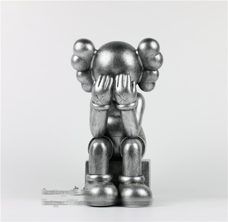 High Quality 16inch Original fake Kaws Companion Passing Thought Action Figure With Retail Box блузон fake ethics youth 8 16 лет
