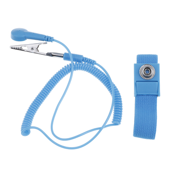Anti Static Bracelet Electrostatic Cordless Wireless Adjustable ESD Discharge Cable Wrist Band Strap Hand With Spare Wristband