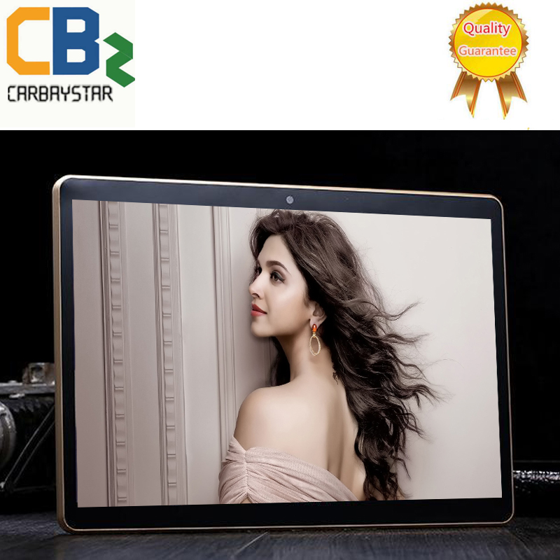 CARBAYTA Free Gift Case  Octa Core 10.1 Inch tablet MTK6592  Android Tablet  4GB RAM 64GB ROM Dual SIM Bluetooth GPS 4G 10 Tablet PC