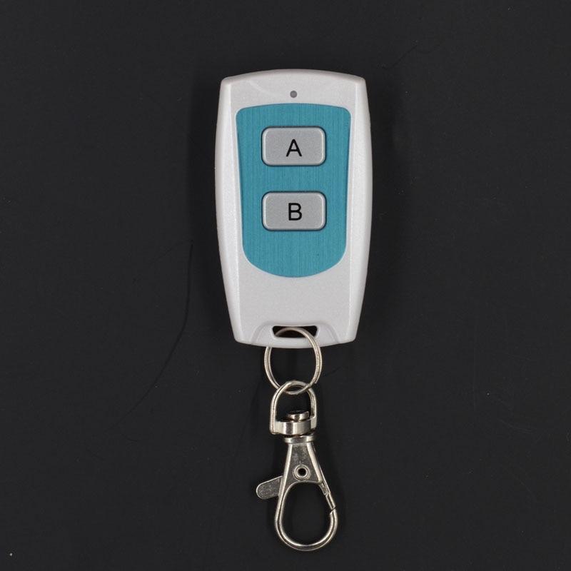White Remote Control RF Radio Transmitter Tx 1 Button 2 Button White Color Wireless Remote PT 2260 315/ 433Mhz Light Remote