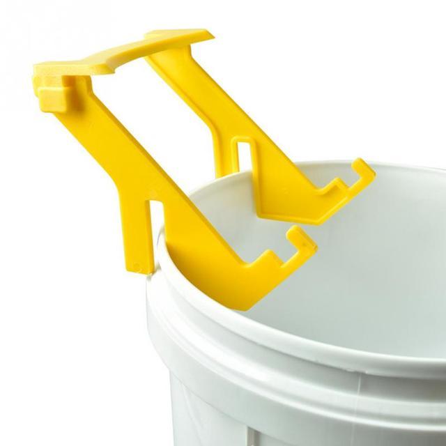 Plastic Beekeeping Tool Honey Bucket Extractor Power Saving Grip Frame Rack Honey collection tool Bee Honey Holder