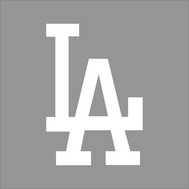 Car styling for los angeles dodgers 3 mlb team color vinyl decal sticker car window wall