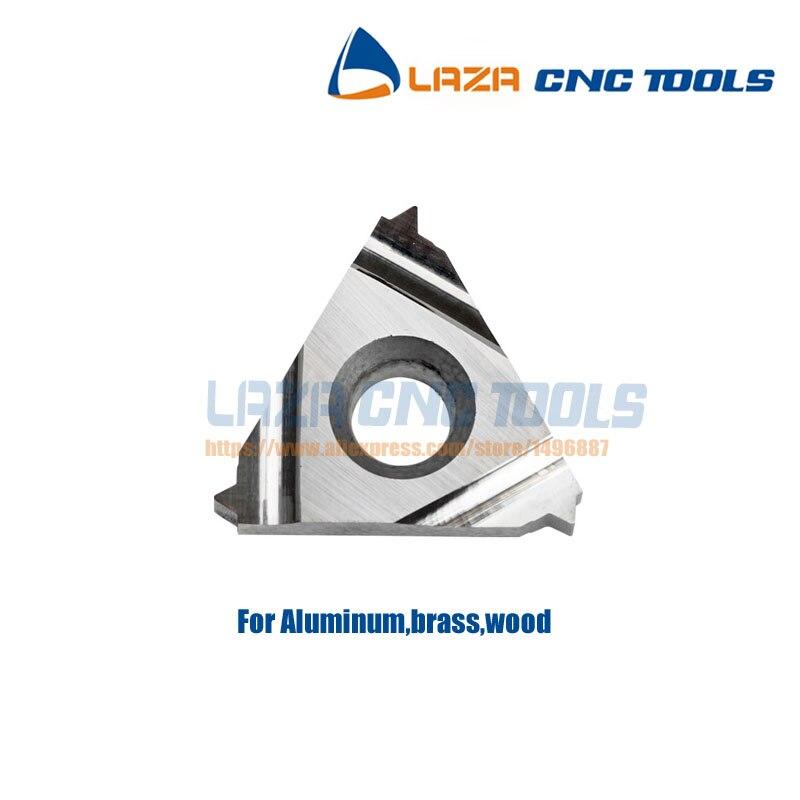 Inch Thread A60 Tool 11ER Cutting External CNC 1//4 10 Carbide Lathe PCs