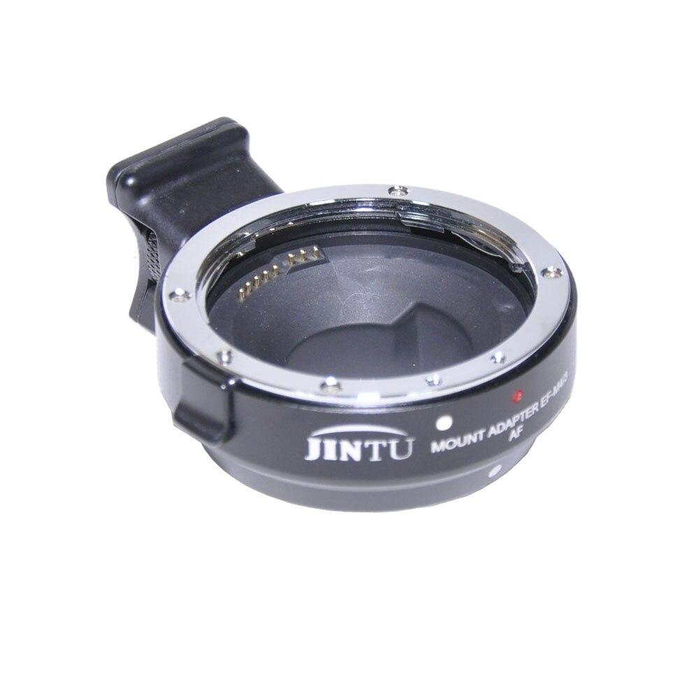 Jintu métal Auto Focus AF adaptateur de montage d'objectif EF-M4/3 pour Canon EOS EF/EF-S à Micro M4/3 Panasonic Olympus caméra prix usine - 5