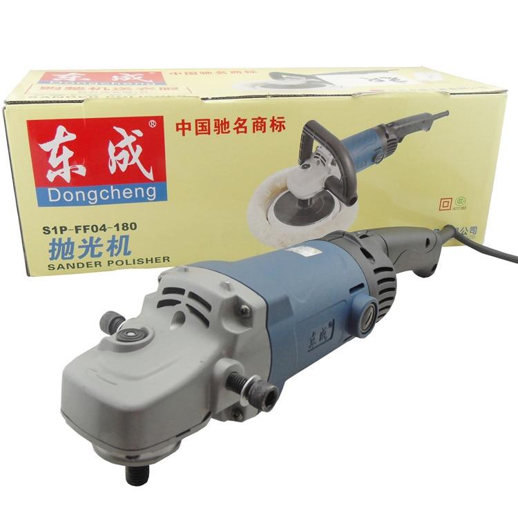 Leštička na auto 1400 W 180mm, 100% vlnkový voskovací stroj 220v - Elektrické nářadí - Fotografie 4