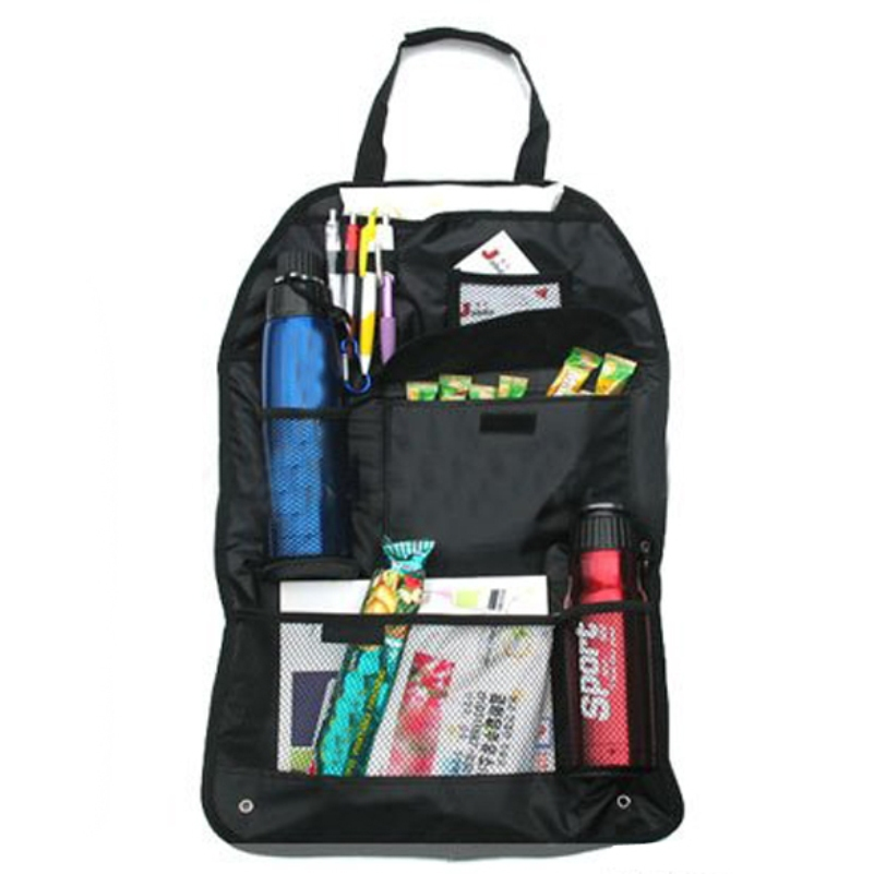 Car Auto Back Seat Bag Multi-Poceket Organizer Bags Assorted Bag Pocket Large Capacity Car Backseat Hanging Storage Bag