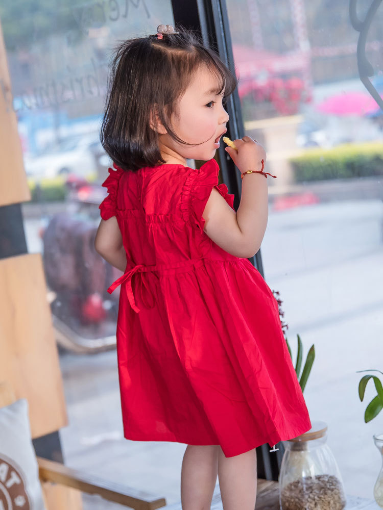 2019 ახალი წითელი ბავშვები - ბავშვთა ტანსაცმელი - ფოტო 3