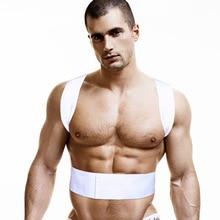 Camiseta masculina postura de algodão, roupa íntima para homens, colete de algodão