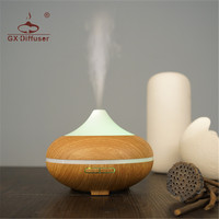 GX Diffuser Electric Aroma Diffuser Humidifier Ultrasonic Essential Oil Aromatherapy Diffusers For Yoga Bedroom